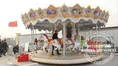 carousel rides for amusement park rides Hot sale carousel horse ride with hot galvanizing,welcome to order sales@zz-modern.com www.zz-modern.com www.modern-park-rides.com tel:+86-18638110228