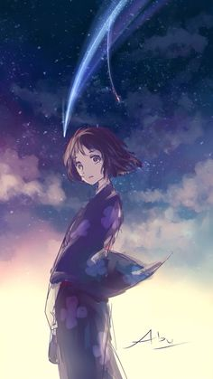 Mitsuha from Kimi no na wa. 君の名は。~Adriana Yanela
