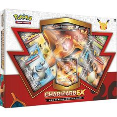 nice Pokemon TCG Red & Blue Collection Charizard-EX Trading Card Check more at http://pixphotobox.co.uk/shop/shop/pokemon-tcg-red-blue-collection-charizard-ex-trading-card/