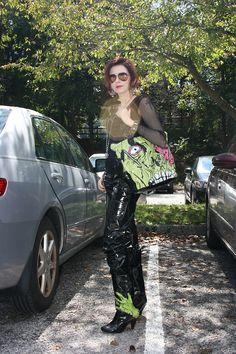 Tumblr Zombie Stomper bag  Iron Fist Clothing  IF Ladies  ironfistclothing.com