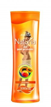 Żel pod prysznic z mango i papają Naturia body przeznaczony jest do skóry normalnej, wymagającej oczyszczenia i odświeżenia.