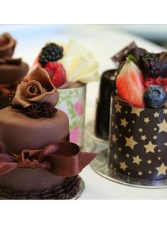 Chocolate mini cakes with Mark TIlling