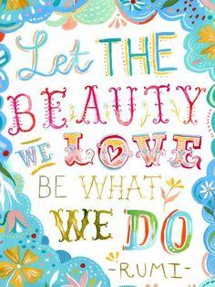 Beauty We Love Canvas Art
