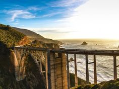 USA 50 Must Do Experiences - Bixby Bridge on the Pacific Coast Highway in California