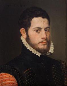 Portrait of a young man, Frans Pourbus the Elder, 1564
