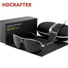 3a3d9a3976 FuzWeb High Quality Retro Polarized Sunglasses Men Luxury er Outdoor UV  Protection Mirror Original Package