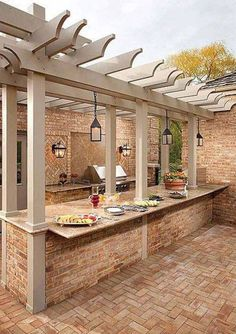 89 Incredible Outdoor Kitchen Design Ideas That Most Inspired 066