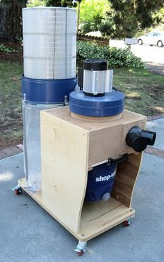 Dust Collector....How boring this must be for all the other pinners...don't care...I think it is AWESOME!!!