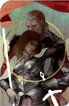Cullen x Inquisitor tarot card