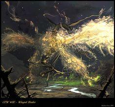 Revised Winged Healer by *nJoo on deviantART