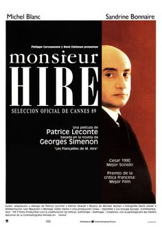 1989 - Monsieur Hire - tt0097904
