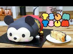 Satisfying Cake Decorating, Most Amazing Cake Style Compilation - Cake Decorating 2017 - Most Cake Ideas in the World. Tsum Tsum Cake, Tsum Tsum Party, Disney Tsum Tsum, Fondant Cakes, Cupcake Cakes, Cupcakes, Kawaii Cooking, Mickey Mouse Cake, Tsumtsum