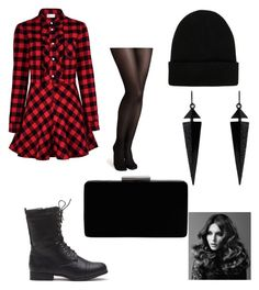 """""""Untitled #67"""" by futuredoctorstanleylove on Polyvore featuring RED Valentino, John Lewis, NLY Accessories, Oasis and BaByliss Pro"""
