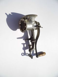 Antique Meat Grinder Vintage Kitchen - Mom used this all the time!