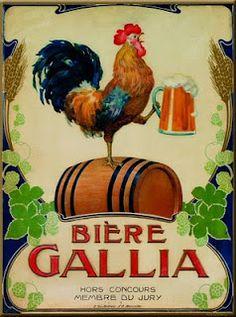 Bière Gallia, la bière parisienne, fait son retour après avoir été arrêtée depuis 1968.