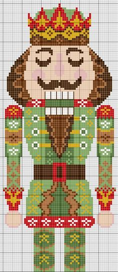 131 best X Stitch Nutcrackers images