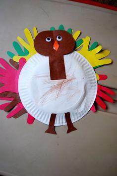 Handprint Turkeys...