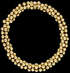 gold necklace by Paul Flato