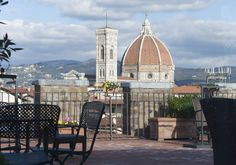 Florence - view from Tornabouni rooftop terrace