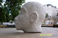 Looking Forward To The Future, amogis gas concrete Stone Sculpture, Concrete, Sculptures, Future, Future Tense, Stone Carving, Sculpture