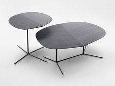Steel and wood coffee table IVY Home Collection by Paola Lenti | design Claesson Koivisto Rune
