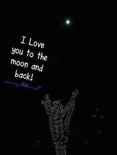 Moon & Back.