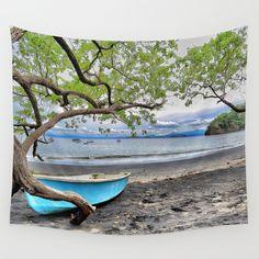 Why Go Home Wall Tapestry  #walltapestry #tapestry #tapestries #homedecor #art #costarica #puravida #ocean #nature #photography #travel #coastal #coast