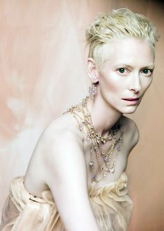 Tilda Swinton for Pomellato, photographed by Paolo Roversi