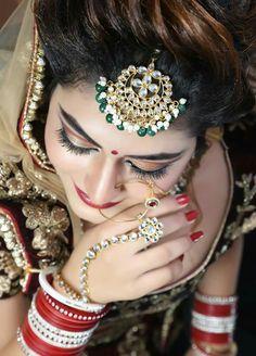 Bridal Makeup Images, Bridal Makeup Looks, Bridal Looks, Bridal Shoot, Wedding Photoshoot, Wedding Girl, Wedding Bride, Indian Wedding Photos, Bridal Makeover