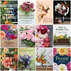 The newest crop of flower and garden books - Floret Flowers