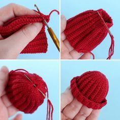 Irresistible Crochet a Doll Ideas. Radiant Crochet a Doll Ideas. Knitting Dolls Clothes, Crochet Barbie Clothes, Knitted Dolls, Doll Clothes Patterns, Crochet Dolls, Knitted Hats, Cute Crochet, Crochet Baby, Knit Crochet