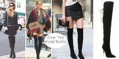 Tendências de Sapatos Outono Inverno 2015 - Botas Cuissards ou Over The Knee
