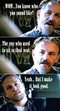 SOA...Jax and Chibs.  Chibs has to survive too.  Him and Jax.  Everyone else is fair game!