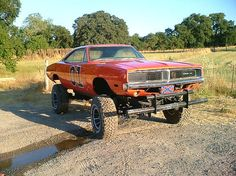 1969 Dodge Charger 4X4 the General Lee