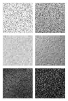 Criando uma textura de concreto com filtros.