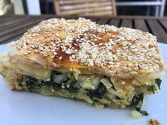 Saras madunivers: Vegetarisk supertærte, fyldt med spinat, squash, r...