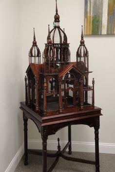 Victorian Antique Bird Cage, $3000.00