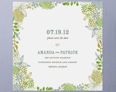 Save The Date Invitation design Weddings and Wedding