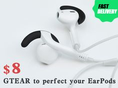 GTEAR to Stabilize Apple Earphones on Your Ears project video thumbnail