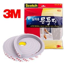 3M SCOTCH Draught Excluder Door insulation tape For OUTDOOR Energy Saving Window…#3m#scotch#draught excluder#door insulation#outdoor