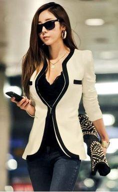 Wish | fashion OL korean blazer