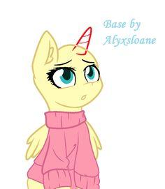 Mlp pony in jacket base