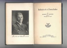 "Robert Service  ""Ballads of a Cheechako""  and early edition published by barse & Hopkins. — For sale by ProfessorBooknoodle, $14.50"