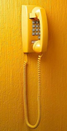 Shades Of Yellow Color Names For Your Inspiration - Going To Tehran who had a kitchen phone with a long cord? That long cord afforded you some privacy when talking on the phone with your friends. Shades Of Yellow Color, Pastel Shades, Telephone Vintage, Vintage Phones, Jaune Orange, Orange Yellow, Aesthetic Colors, Aesthetic Yellow, Aesthetic Vintage