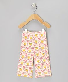 Take a look at this Pink Zoe Blossom Organic Pants - Infant, Toddler & Kids by Kiwi Industries on #zulily today!