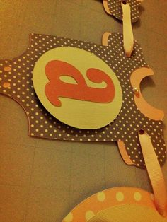 Baby Shower banner - make pink and brown .. I can so make this !!