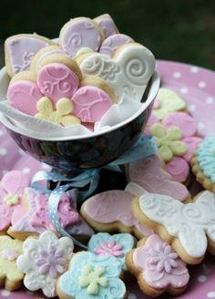 Pastels cookies