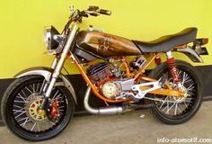 Modif Yamaha RX King, The Real King