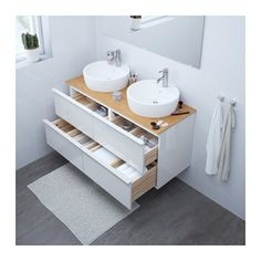 IKEA offers everything from living room furniture to mattresses and bedroom furniture so that you can design your life at home. Check out our furniture and home furnishings! White Vanity Bathroom, Modern Bathroom, Small Bathroom, 30 Vanity, Brown Bathroom, Bathroom Storage, Bathroom Renos, Bathroom Furniture, Wooden Furniture