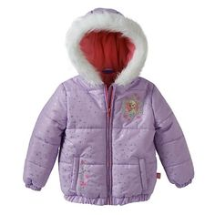 Disney's Frozen Puffer Jacket #Kohls #FrozenFriday